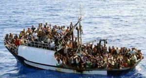 Bootvluchtelingen-geluk