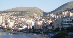 Kustlijn van Durres in 2008
